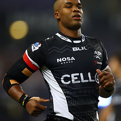DURBAN, SOUTH AFRICA - MARCH 26:  JP Pietersen of the Cell C Sharks during the Super Rugby match between Cell C Sharks and BNZ Crusaders at Growthpoint Kings Park on March 26, 2016 in Durban, South Africa. (Photo by Steve Haag)<br /> <br /> images for social media must have consent from Steve Haag