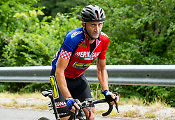 Davide Rebellin (ITA) of Meridiana Kamen Team during 4th Stage of 26th Tour of Slovenia 2019 cycling race between Nova Gorica and Ajdovscina (153,9 km), on June 22, 2019 in Slovenia. Photo by Vid Ponikvar / Sportida