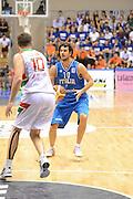Trieste 8 Settembre 2012 Qualificazioni Europei 2013 Italia Bielorussia<br /> Foto Ciamillo<br /> Nella foto : luca vitali