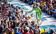 LG award winners enjoy VIP trip to the Daytona 500, photo by Roberto Gonzalez