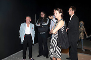 BRUNO BRUNNET; JONATHAN MEESE; NICOLE HACKERT, MOCA RECEPTION, Opening of ÔJonathan Meese: SculptureÔ, from the Knight Exhibition Series. Also on view: ÔBruce Weber: Haiti / Little HaitiÔ, Hosted by Bonnie Clearwater and Vanity Fair International. Museum of Contemporary Art, 770 NE 125 Street, North Miami 30 NOVEMBER 2010. -DO NOT ARCHIVE-© Copyright Photograph by Dafydd Jones. 248 Clapham Rd. London SW9 0PZ. Tel 0207 820 0771. www.dafjones.com.<br /> BRUNO BRUNNET; JONATHAN MEESE; NICOLE HACKERT, MOCA RECEPTION, Opening of 'Jonathan Meese: Sculpture', from the Knight Exhibition Series. Also on view: 'Bruce Weber: Haiti / Little Haiti', Hosted by Bonnie Clearwater and Vanity Fair International. Museum of Contemporary Art, 770 NE 125 Street, North Miami 30 NOVEMBER 2010. -DO NOT ARCHIVE-© Copyright Photograph by Dafydd Jones. 248 Clapham Rd. London SW9 0PZ. Tel 0207 820 0771. www.dafjones.com.