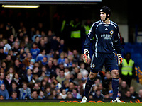 Photo: Ed Godden/Sportsbeat Images.<br /> Chelsea v Nottingham Forest. The FA Cup. 28/01/2007.<br /> Chelsea keeper Petr Cech.