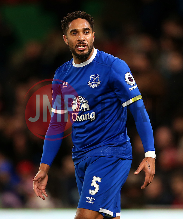 Ashley Williams of Everton - Mandatory by-line: Matt McNulty/JMP - 01/02/2017 - FOOTBALL - Bet365 Stadium - Stoke-on-Trent, England - Stoke City v Everton - Premier League