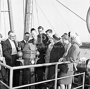 "Reception for Schoolteachers on the ""City of Dublin""<br /> 11.05.1961"