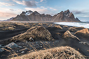 Stokksnes beach in Southeast Iceland