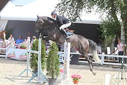Vermeiren Jan (BEL) - Cupido vd Hoefslag Z<br /> Belgisch kampioenschap jonge springpaarden Gesves 2012<br /> © Hippo Foto - Counet Julien
