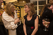 NATALIE LIVINGSTONE; ALLIE ESIRI Allie Esiri's The Love Book launch party , Daunt Books <br /> 83 Marylebone High Street, London. 5 February 2014