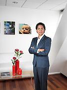 NEW YORK -NOV 11: MARLA BUTLER at the RKMC Offices Nov 11,  2014 in New York.   (Matthew Peyton)