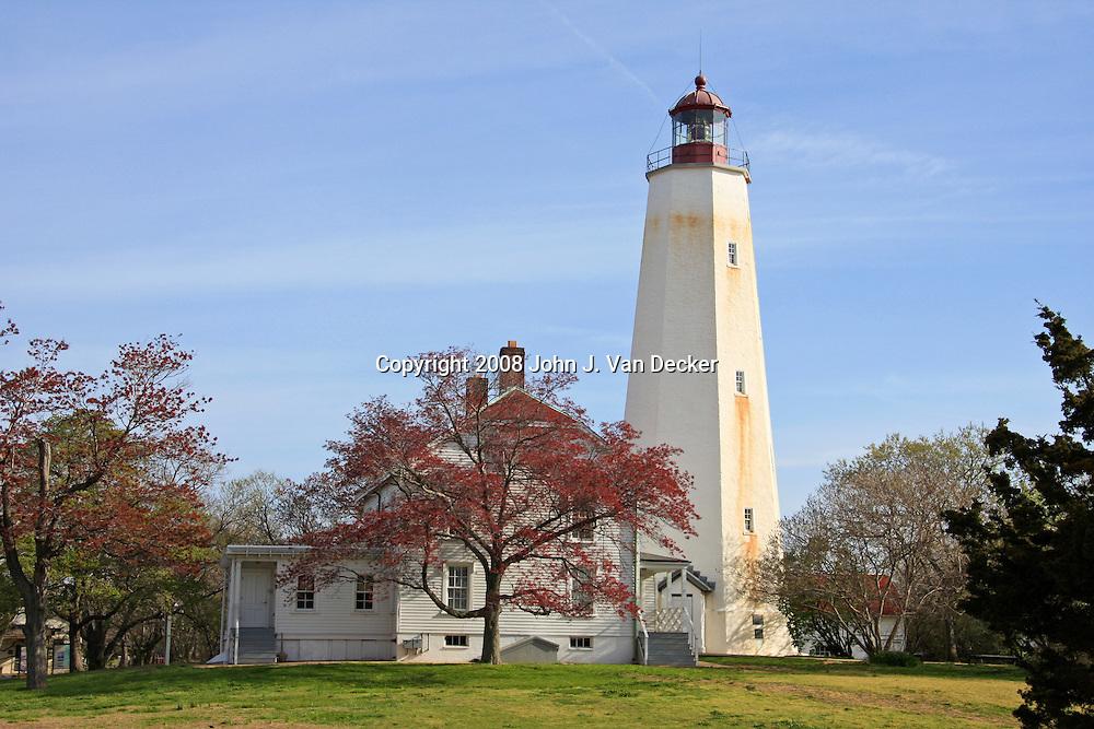 Sandy Hook Lighthouse, New Jersey, USA