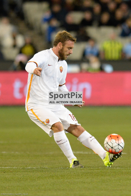 DANIELE DE ROSSI, AS Roma - AS Roma v Manchester City in game 2 of the International Champions Cup Australia at the Melbourne Cricket Ground, Melbourne Australia. 21st July 2015. © Mark Avellino | SportPix.org.uk
