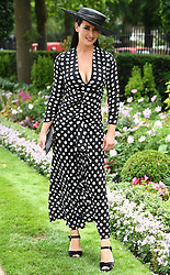 Kirsty Gallacher attends the second day of Royal Ascot 2018 at Ascot Racecourse, Ascot, Berkshire, UK, on the 20th June 2018. 20 Jun 2018 Pictured: Kirsty Gallacher attends the second day of Royal Ascot 2018 at Ascot Racecourse, Ascot, Berkshire, UK, on the 20th June 2018. Photo credit: James Whatling / MEGA TheMegaAgency.com +1 888 505 6342