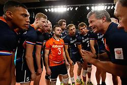 20170617 NED: FIVB Volleybal World League 2017 The Netherlands - Slovakia: Den Haag <br />Gido Vermeulen, headcoach of The Netherlands <br />©2017-FotoHoogendoorn.nl / Pim Waslander
