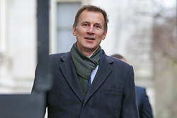 © Licensed to London News Pictures. 05/02/2019, London, UK. Jeremy Hunt - Foreign Secretary arrives in Downing Street for the weekly Cabinet meeting. Photo credit: Dinendra Haria/LNP