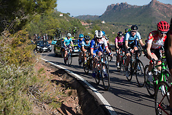 Rozanne Slik (NED) of FDJ Nouvelle Aquitaine Futuroscope Team rides mid-pack on the main climb of Stage 2 of the Setmana Ciclista Valenciana - a 115 km road race, between Castello and Vila-Real on February 23, 2018, in Valencia, Spain. (Photo by Balint Hamvas/Velofocus.com)