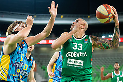 during basketball match between KK Cedevita Olimpija and KK Sixt Primorska in Round #17 of ABA League 2019/20, on January 26, 2020 in Arena Stozice, Ljubljana, Slovenia. Photo By Grega Valancic / Sportida