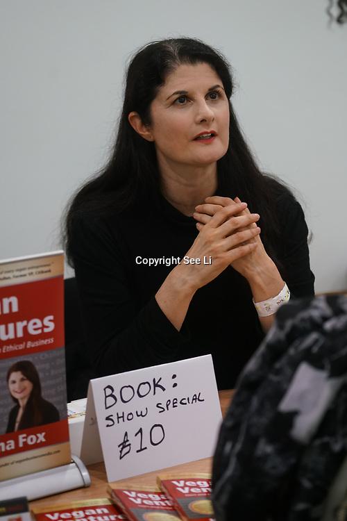 Katrina Fox bookstall exhibition at Olympia London on the 21st October 2017