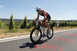21.06.2014, Remich, LUX, Ergo Ironman 70.3, im Bild Jens Frommhold (SCC Triathlon Berlin) auf der Radstrecke // during the Ergo Ironman 70.3 in Remich, Luxembourg on 2014/06/21. EXPA Pictures © 2014, PhotoCredit: EXPA/ Eibner-Pressefoto/ Schueler<br /> <br /> *****ATTENTION - OUT of GER*****