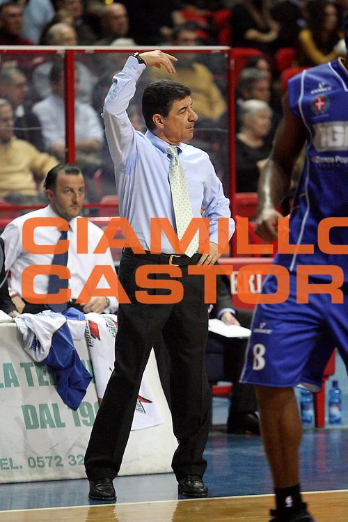 DESCRIZIONE : Montecatini Lega A2 2007-08 Agricola Gloria Montecatini Ignis Novara<br /> GIOCATORE : Coach Perazzetti Marcello<br /> SQUADRA : Ignis Novara<br /> EVENTO : Campionato Lega A2 2007-2008<br /> GARA : Agricola Gloria Montecatini Ignis Novara<br /> DATA : 27/01/2008<br /> CATEGORIA : <br /> SPORT : Pallacanestro<br /> AUTORE : Agenzia Ciamillo-Castoria/Stefano D'Errico