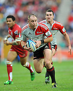 Willi Heinz runs in open space for the Crusaders ~ Super 15 rugby (Round 15) - Reds v Crusaders played at Suncorp Stadium, Brisbane, Australia on Sunday 29th May 2011 ~ Photo : Steven Hight (AURA Images) / Photosport