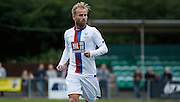 Barry Bannan in action during the Pre-Season Friendly match between Hampton & Richmond and Crystal Palace at Beveree Stadium, Richmond Upon Thames, United Kingdom on 27 July 2015. Photo by Michael Hulf.