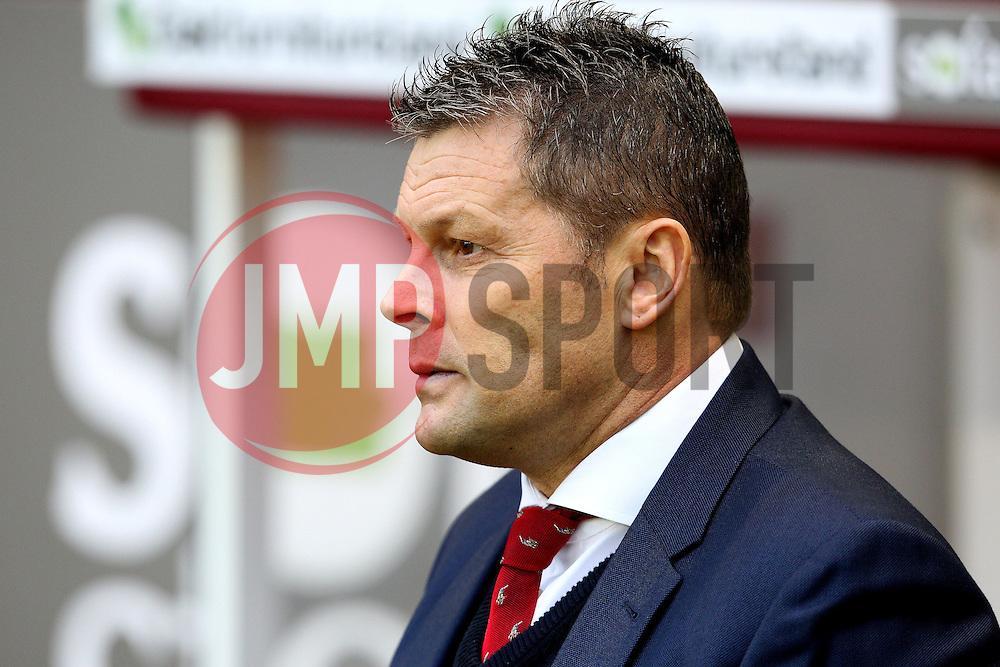 Bristol City Manager Steve Cotterill  - Mandatory byline: Matt McNulty/JMP - 07966 386802 - 28/12/2015 - FOOTBALL - Turf Moor - Burnely, England - Burnley v Bristol City - Sky Bet Championship