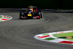 06.09.2014, Autodromo di Monza, Monza, ITA, FIA, Formel 1, Grand Prix von Italien, Qualifying, im Bild Daniel Ricciardo (AUS) Red Bull Racing RB10. // during the Qualifying of Italian Formula One Grand Prix at the Autodromo di Monza in Monza, Italy on 2014/09/06. EXPA Pictures © 2014, PhotoCredit: EXPA/ Sutton Images/ Martini<br /> <br /> *****ATTENTION - for AUT, SLO, CRO, SRB, BIH, MAZ only*****