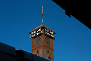 Union Station &auml;r det gamla namnet p&aring; t&aring;gstationen i Seattle som nu kallas Kind Street Station. <br /> <br /> Foto: Christina Sj&ouml;gren