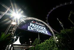 Motorsports / Formula 1: World Championship 2010, GP of Singapore, paddock entrance, circuit