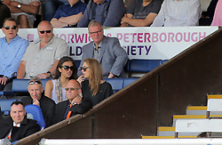 Leeds United Head Coach Steve Evans in the stands at the ABAX Stadium to watch the game - Mandatory by-line: Joe Dent/JMP - 08/05/2016 - FOOTBALL - ABAX Stadium - Peterborough, England - Peterborough United v Blackpool - Sky Bet League One