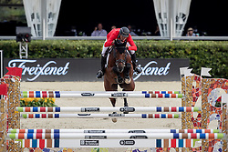 Guerdat Steve, SUI, Corbinian<br /> Furusiyya FEI Nations Cup Jumping Final - Barcelona 2016<br /> © Hippo Foto - Dirk Caremans<br /> 22/09/16