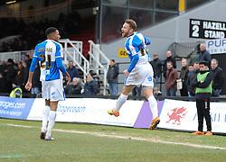 Matt Taylor of Bristol Rovers celebrates. - Mandatory byline: Alex James/JMP - 19/03/2016 - FOOTBALL - Rodney Parade - Newport, England - Newport County v Bristol Rovers - Sky Bet League Two