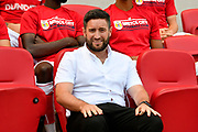 Bristol City manager Lee Johnson before the EFL Sky Bet Championship match between Bristol City and Nottingham Forest at Ashton Gate, Bristol, England on 4 August 2018. Picture by Graham Hunt.