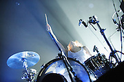 Matt & Kim performing at the Pageant in St. Louis on November 4, 2012.
