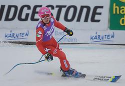11.01.2015, Franz Klammer Weltcupstrecke, Bad Kleinkirchheim, AUT, FIS Ski Weltcup, Super G, Damen, im Bild Nadia Fanchini (ITA) // Nadia Fanchini of Italy in action during ladie's SuperG of the Bad Kleinkirchheim FIS Ski Alpine World Cup at the Franz Klammer Course in Bad Kleinkirchheim, Austria on 2015/01/11. EXPA Pictures © 2015, PhotoCredit: EXPA/ Mag. Gert Steinthaler