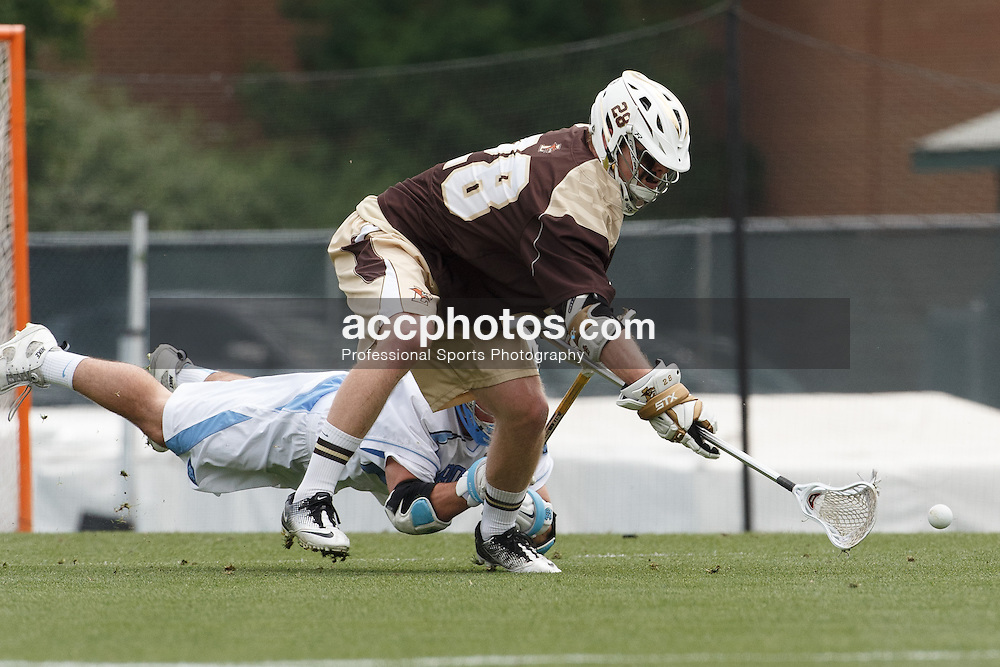 2013 May 11: Dylan O'Shaughnessy #28 of the Lehigh Mountain Hawks during a 16-7 loss to the North Carolina Tar Heels at Fetzer Field in Chapel Hill, NC.