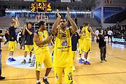 DESCRIZIONE : Ancona Lega A 2012-13 Sutor Montegranaro Angelico Biella<br /> GIOCATORE : Kyle Johnson<br /> CATEGORIA : esultanza<br /> SQUADRA : Sutor Montegranaro<br /> EVENTO : Campionato Lega A 2012-2013 <br /> GARA : Sutor Montegranaro Angelico Biella<br /> DATA : 02/12/2012<br /> SPORT : Pallacanestro <br /> AUTORE : Agenzia Ciamillo-Castoria/C.De Massis<br /> Galleria : Lega Basket A 2012-2013  <br /> Fotonotizia : Ancona Lega A 2012-13 Sutor Montegranaro Angelico Biella<br /> Predefinita :