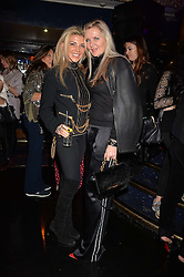 Left to right, Lisa Tchenguiz and Amanda Wakeley at the SheInspiresMe Dance in aid of Women for Women International held at the Café de Paris, 3 Coventry Street, London England. 25 January 2017.