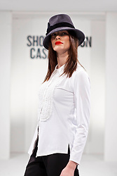 Repro Free: Model Karen Fitzpatrick pictured during the fashion show at Showcase 2013. Pic Andres Poveda