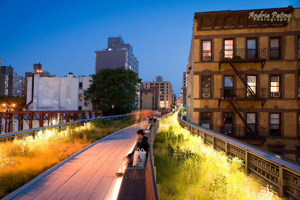 High Line, Elavated Park, New York