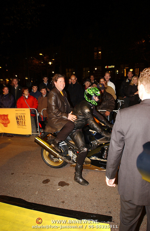 Premiere Kill Bill, Henk Jan Smits op de motor