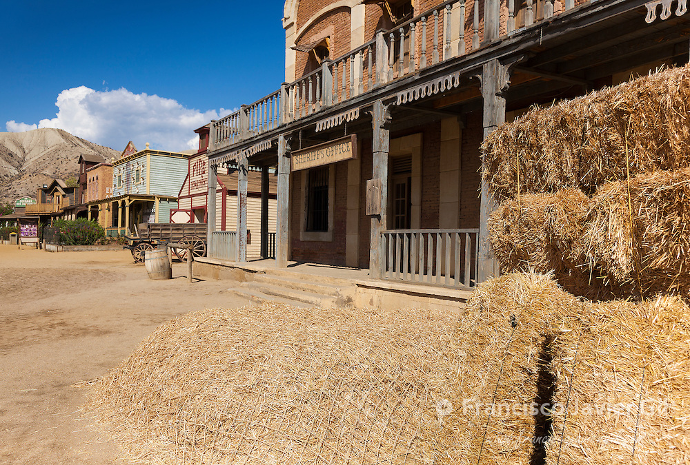 Mini Hollywood Film set, Desert of Tabernas, Almeria Province, Andalusia, Spain