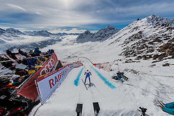 09.02.2017, St. Moritz, SUI, FIS Weltmeisterschaften Ski Alpin, St. Moritz 2017, Abfahrt, Herren, Training, im Bild Peter Fill (ITA) am free fall // Peter Fill of Italy at the free fall in action during the practice run of men's Downhill of the FIS Ski World Championships 2017. St. Moritz, Switzerland on 2017/02/09. EXPA Pictures © 2017, PhotoCredit: EXPA/ Alessandro Della Bella/ POOL