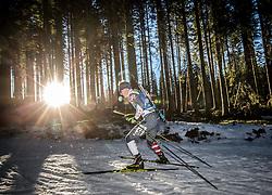 Travis Cooper (USA) in action during the Men 10km Sprint at day 6 of IBU Biathlon World Cup 2018/19 Pokljuka, on December 7, 2018 in Rudno polje, Pokljuka, Pokljuka, Slovenia. Photo by Vid Ponikvar / Sportida