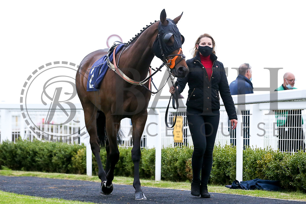 Lauberhorn Rocket ridden by Charlie Price and trained by Tim Vaughan - Mandatory by-line: Robbie Stephenson/JMP - 18/07/2020 - HORSE RACING- Bath Racecourse - Bath, England - Bath Races 18/07/20