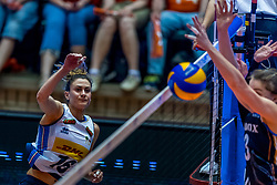 06-06-2018 NED: Volleyball Nations League Netherlands - Italy, Rotterdam<br /> Italy wins with 3-2 / Lucia Bosetti #16 of Italy