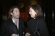 MAT COLLISHAW AND JUDITH GREER, Owning Art- The Contemporary Art Collectors Handbook by Judith Greer and Louisa Buck. National Gallery. London. 2 October 2006. -DO NOT ARCHIVE-© Copyright Photograph by Dafydd Jones 66 Stockwell Park Rd. London SW9 0DA Tel 020 7733 0108 www.dafjones.com