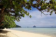 Thailand, Ko Kradan. The beach.
