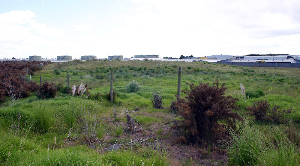 Site of the new $900 million mens prison planned for Wiri, near the present womens prison, Auckland, New Zealand, Thursday, March 08, 2012. Credit:SNPA / Grahame Clark
