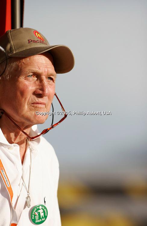 23-24 September, 2005, Las Vegas, Nevada, USA.<br /> Paul Newman.<br /> © 2005 Phillip Abbott/USA<br /> LAT Photographic