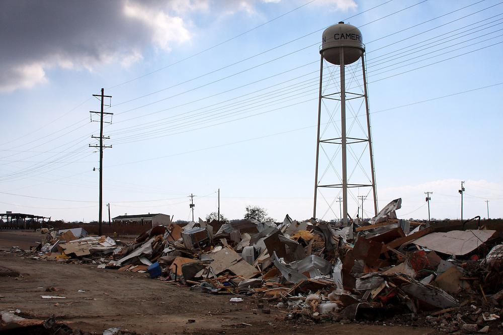 Cameron, LA, After Hurricane Ike